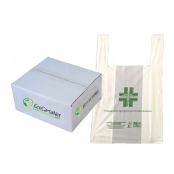 SHOPPERS FARMACIA BIO COMPOSTABILI 27X50
