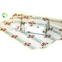 CARTA KRAFT FARMACIA 18X25